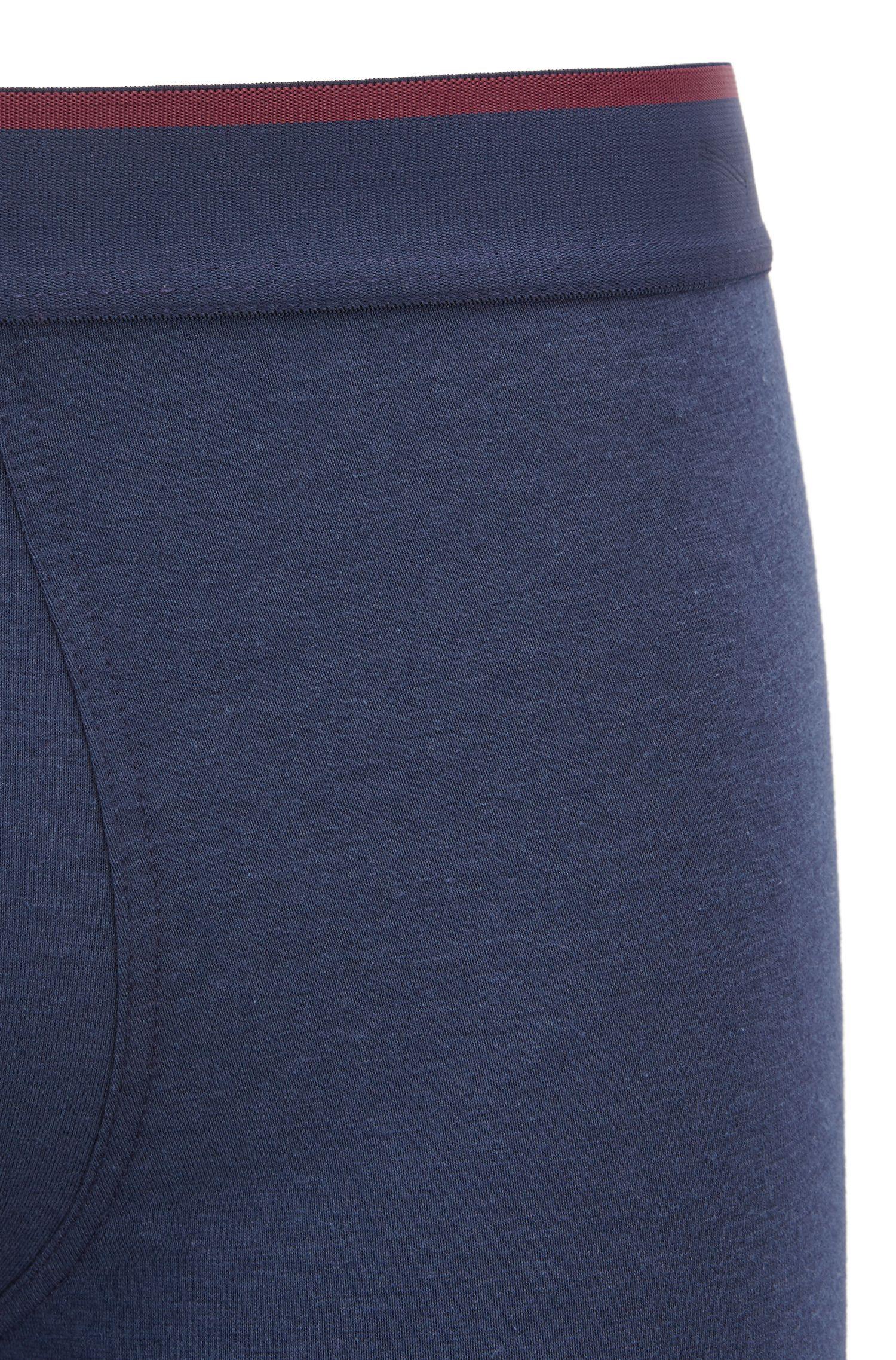 Boxer con vita ad altezza normale con controllo della temperatura Outlast®, Blu scuro
