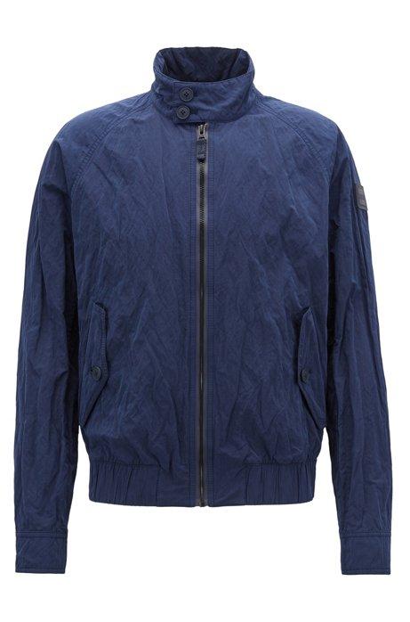 Regular-fit jacket in water-repellent metallic fabric BOSS Order Sale Online Cheap Sale Classic 5TDmB7p