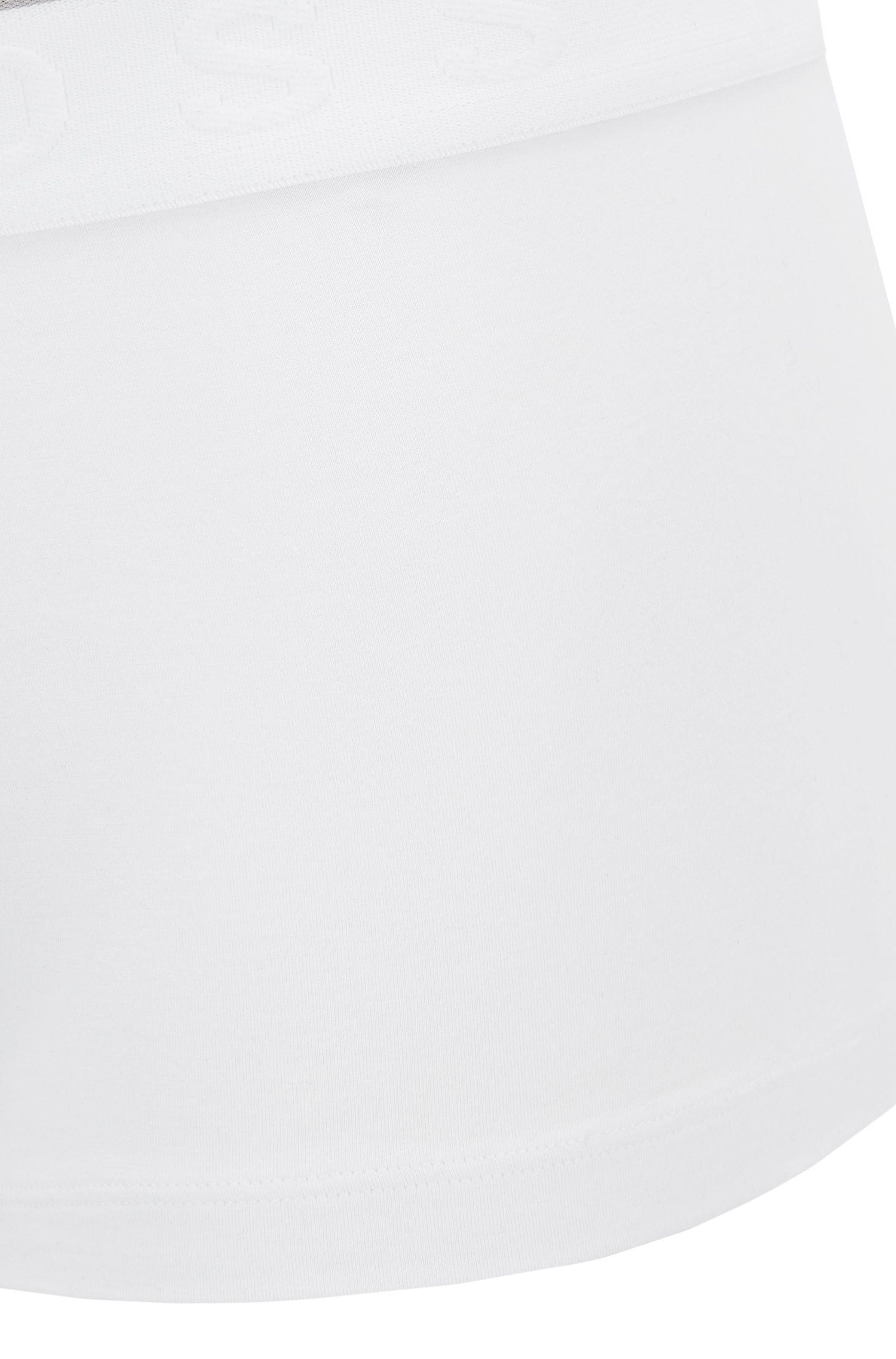 Boxershort met logo-tailleband, in een stretchjersey van een modalmix