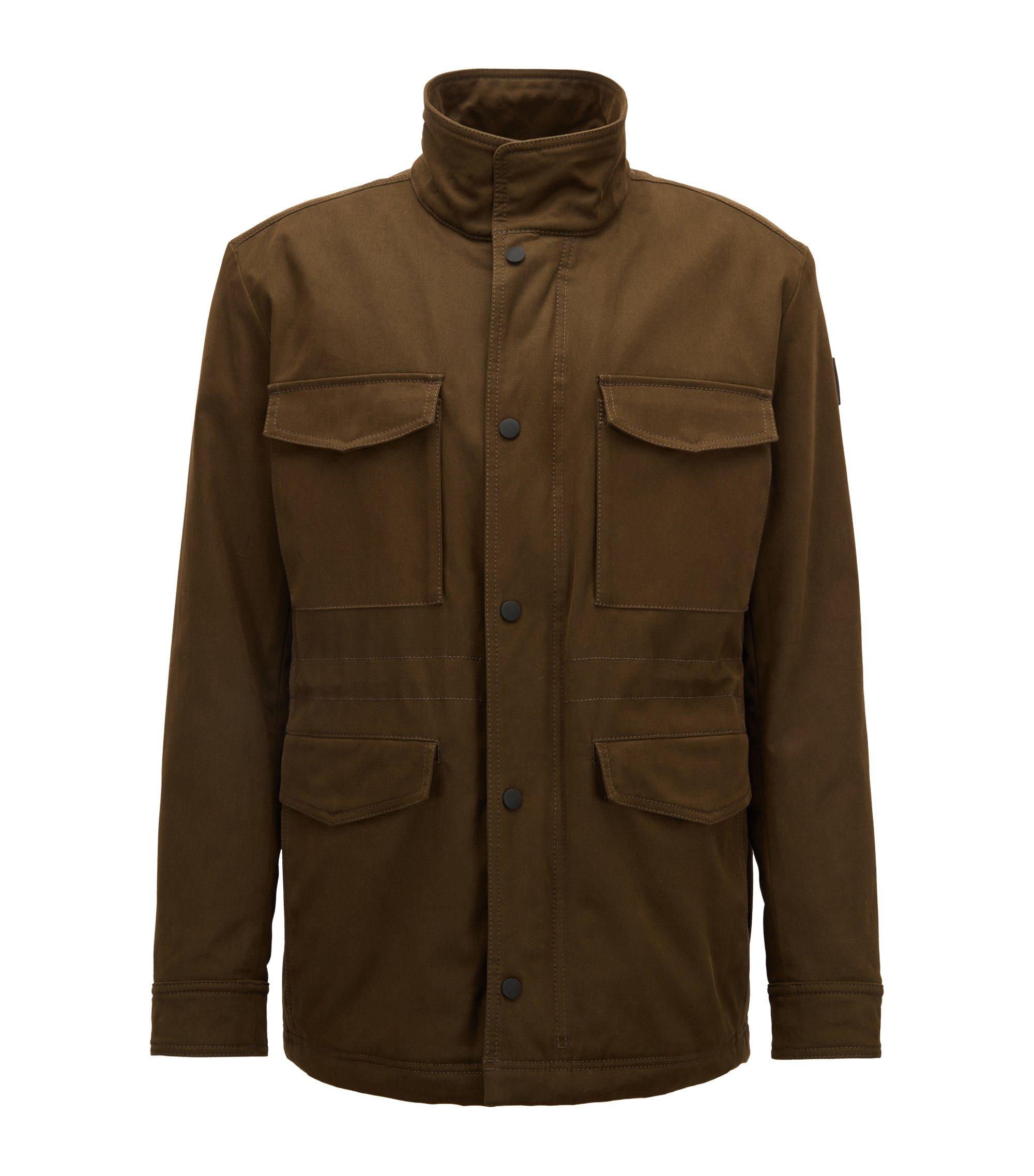Veste imperméable avec garnissage PrimaLoft®, Vert sombre