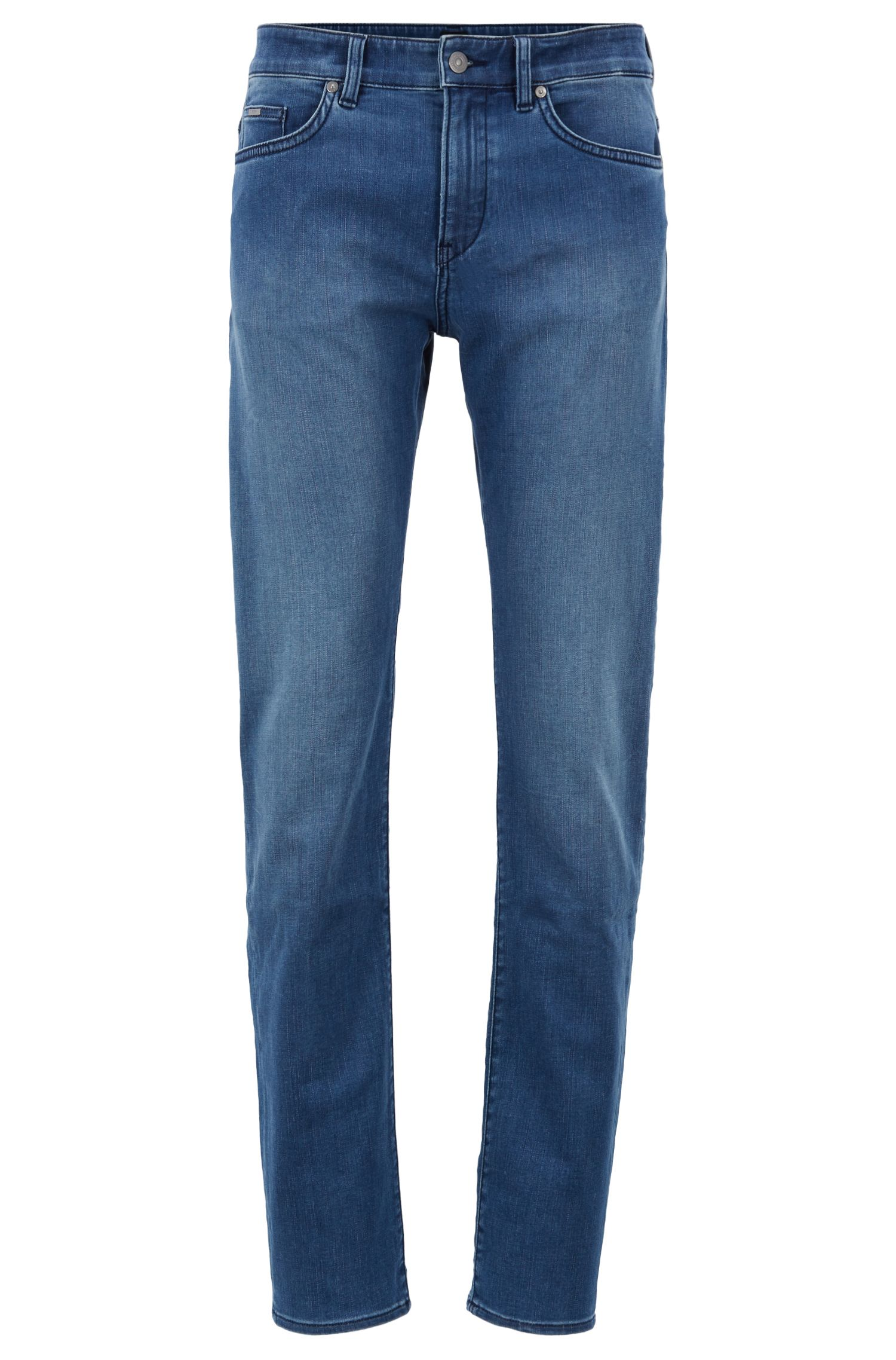 Slim-Fit Jeans aus softem Stretch-Denim