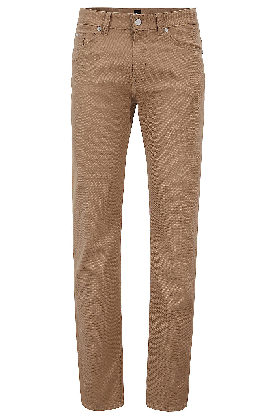 Bon Marché De Nouveaux Styles Acheter En Ligne Authentique HUGO BOSS Pantalon Tapered Fit en coton stretch 0ZUKWy