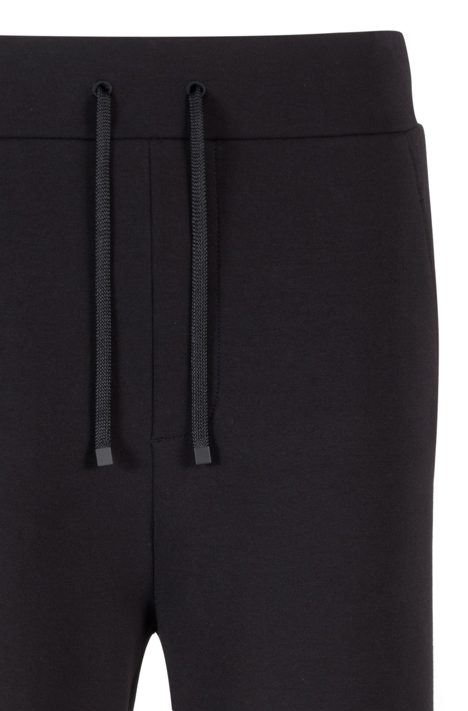 Relaxed-fit cotton-blend trousers with ribbed knees