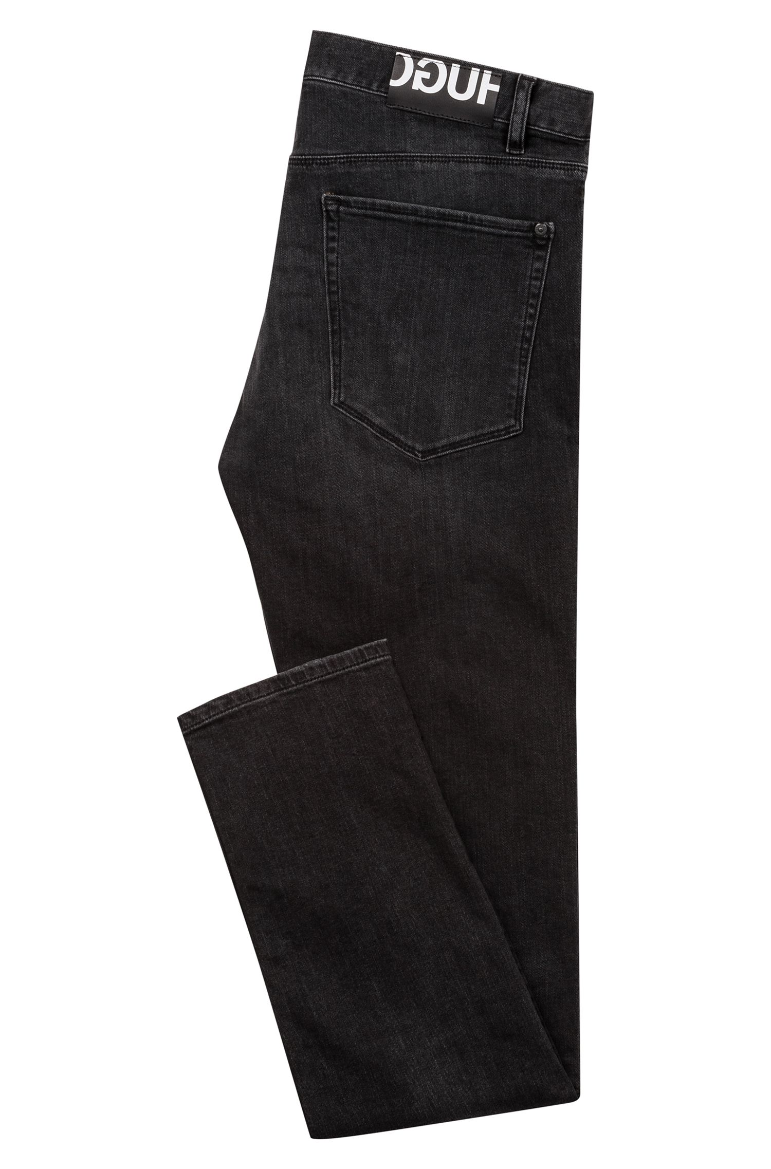 Jean Slim Fit en denim stretch gris foncé