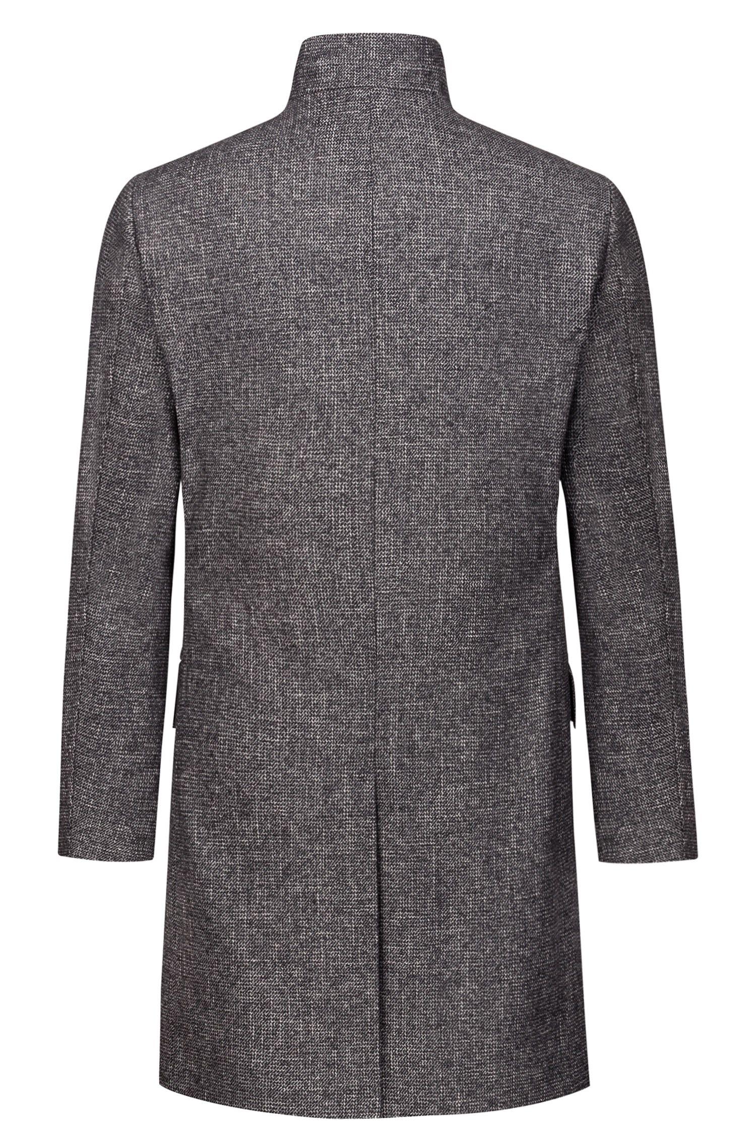 Manteau Regular Fit à micro-motif intégral