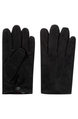 Sude handschoenen met kasjmiervoering