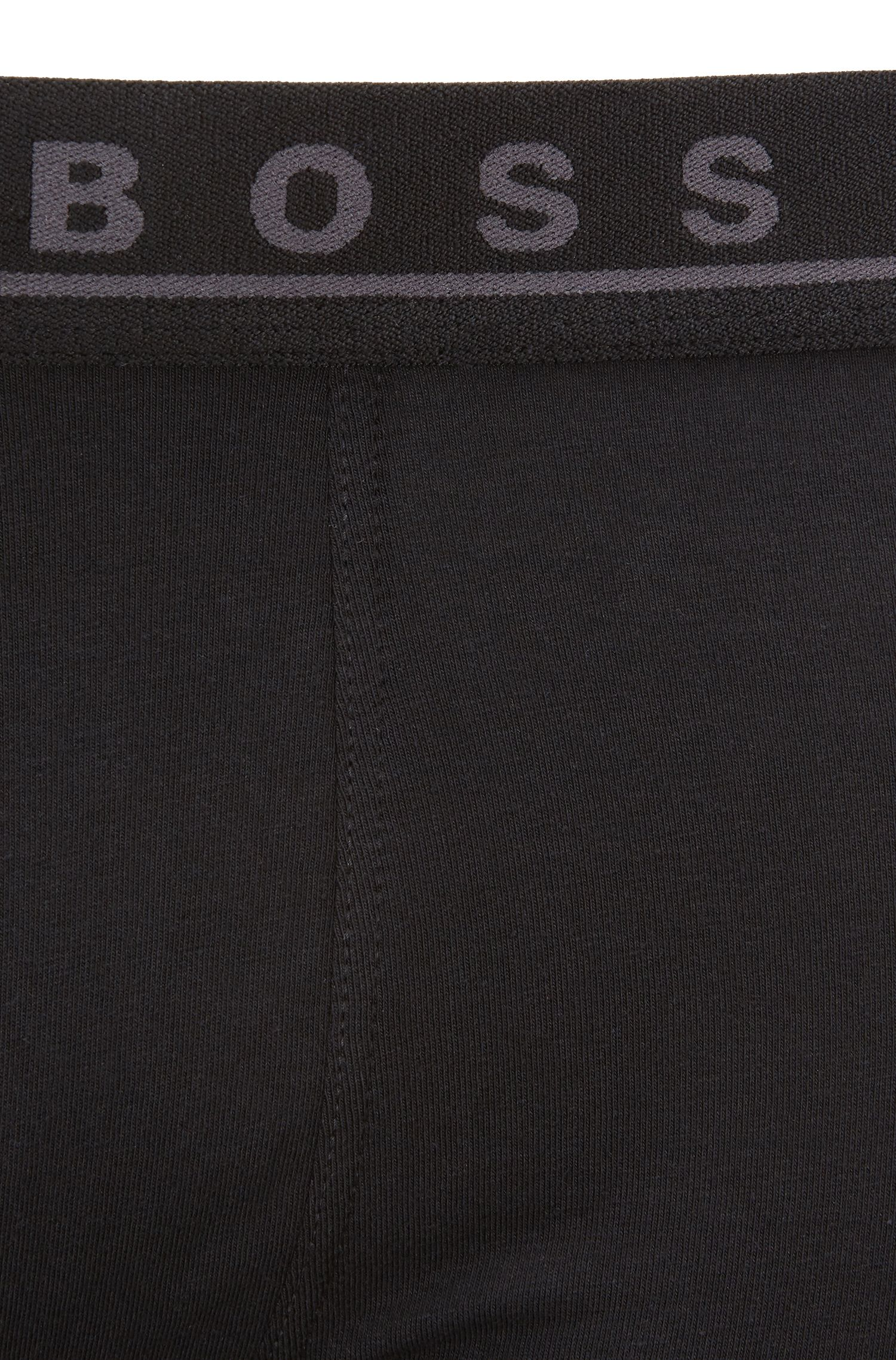 Three-pack of boxer briefs in stretch cotton, Patterned