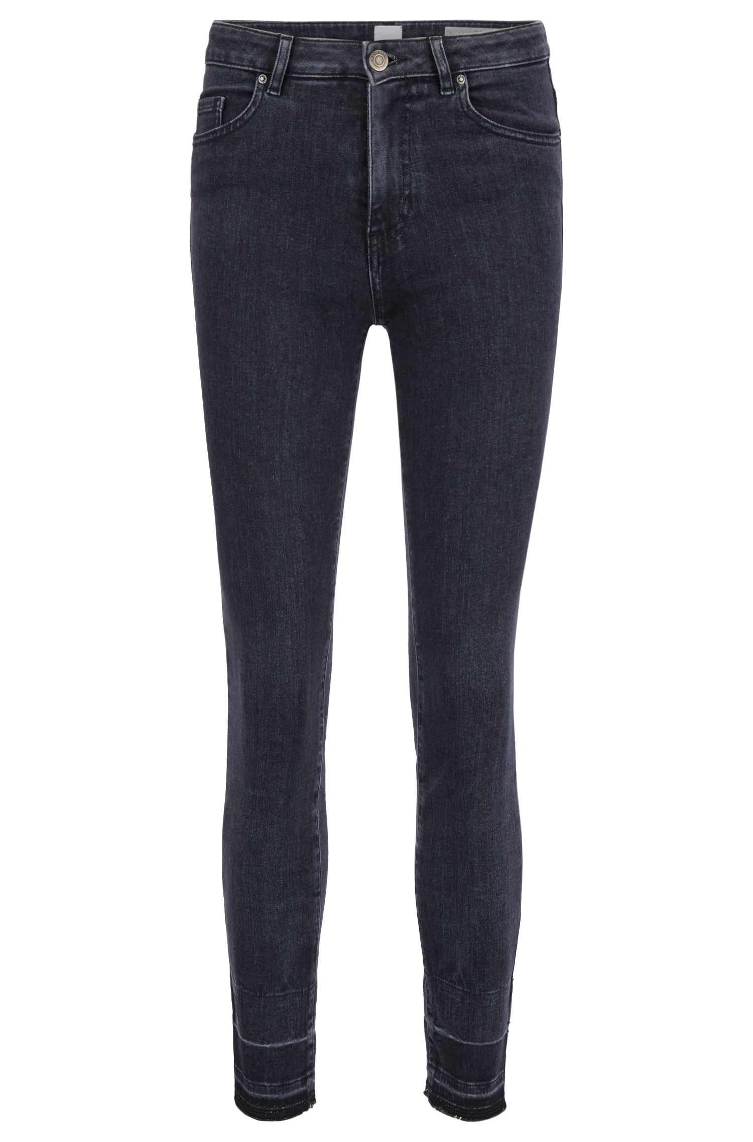 Jean raccourci Skinny Fit en denim power-stretch