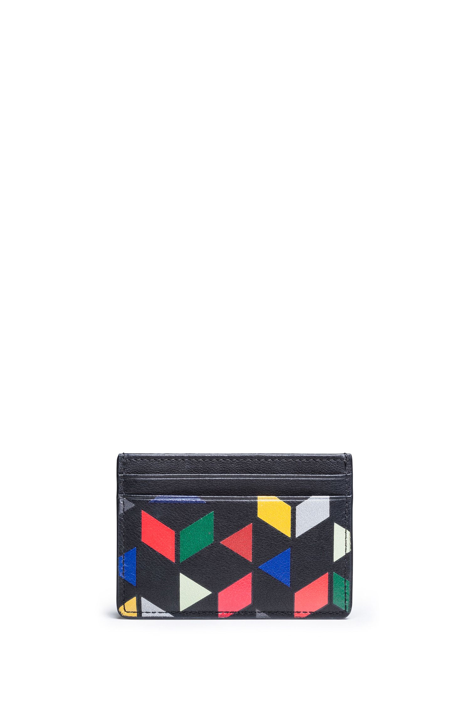 """An Eames Celebration"" Card Case aus Leder mit Print"
