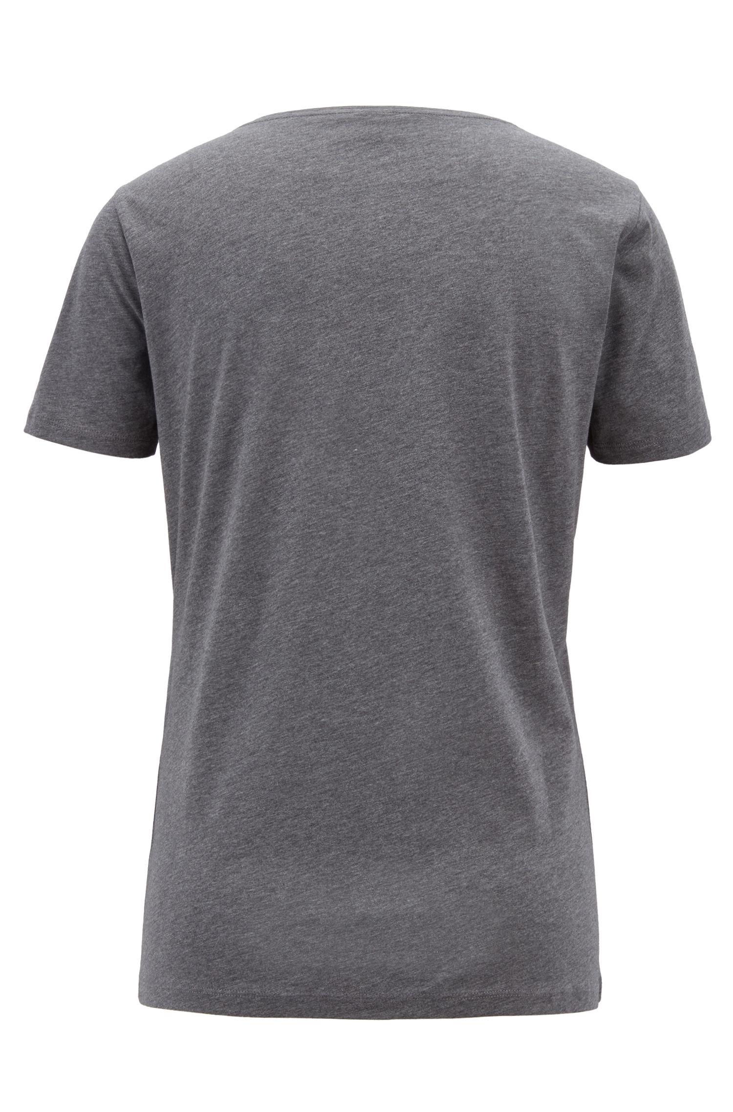 T-shirt Slim Fit avec logo imprimé cœurs
