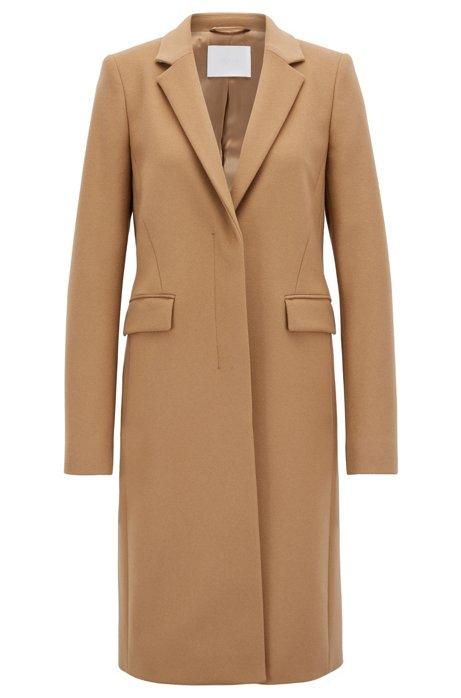 e368e0455fa BOSS - Manteau inspiré du blazer en laine vierge italienne et cachemire