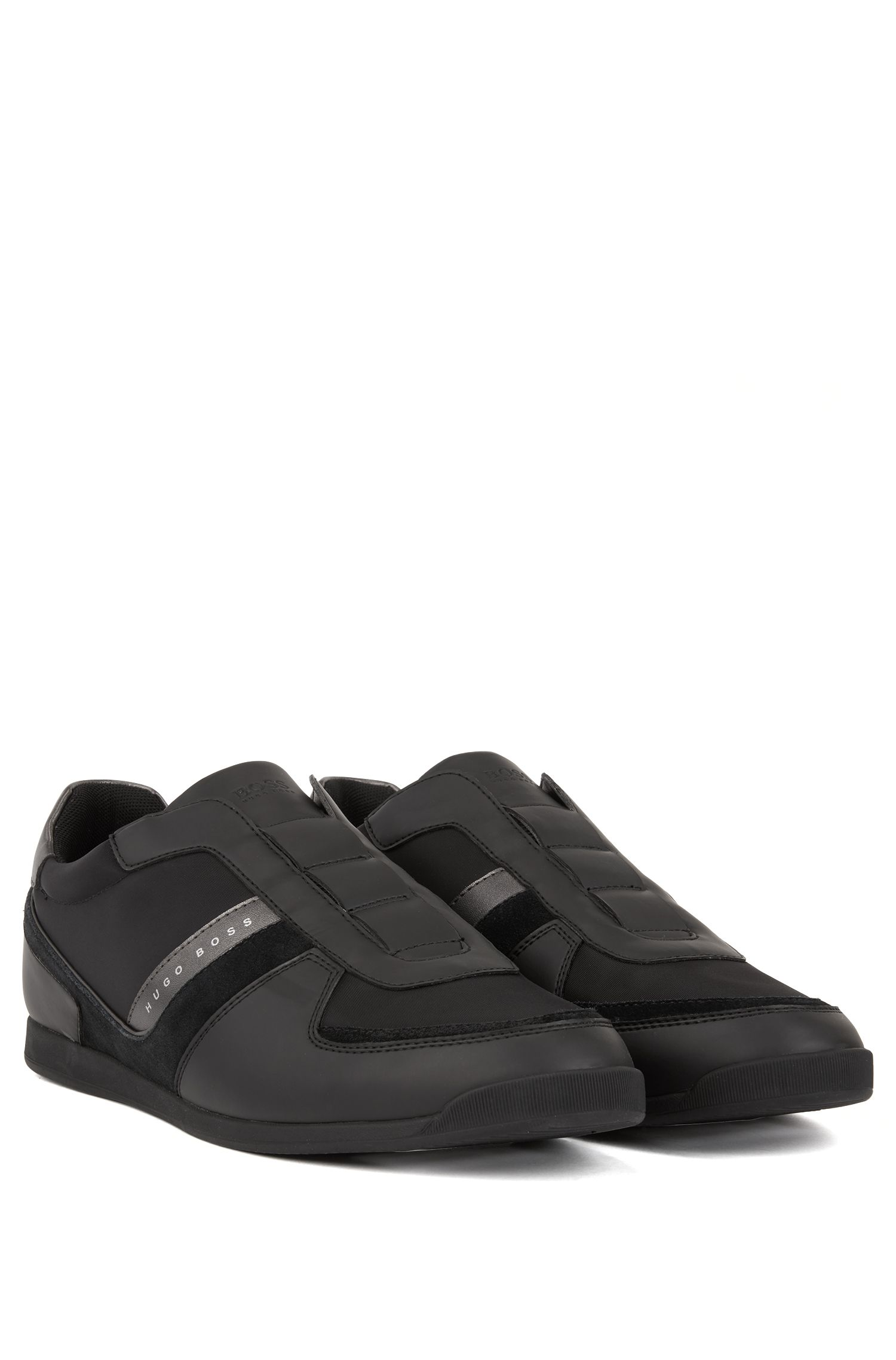 Sneakers low-top con tomaia senza stringhe