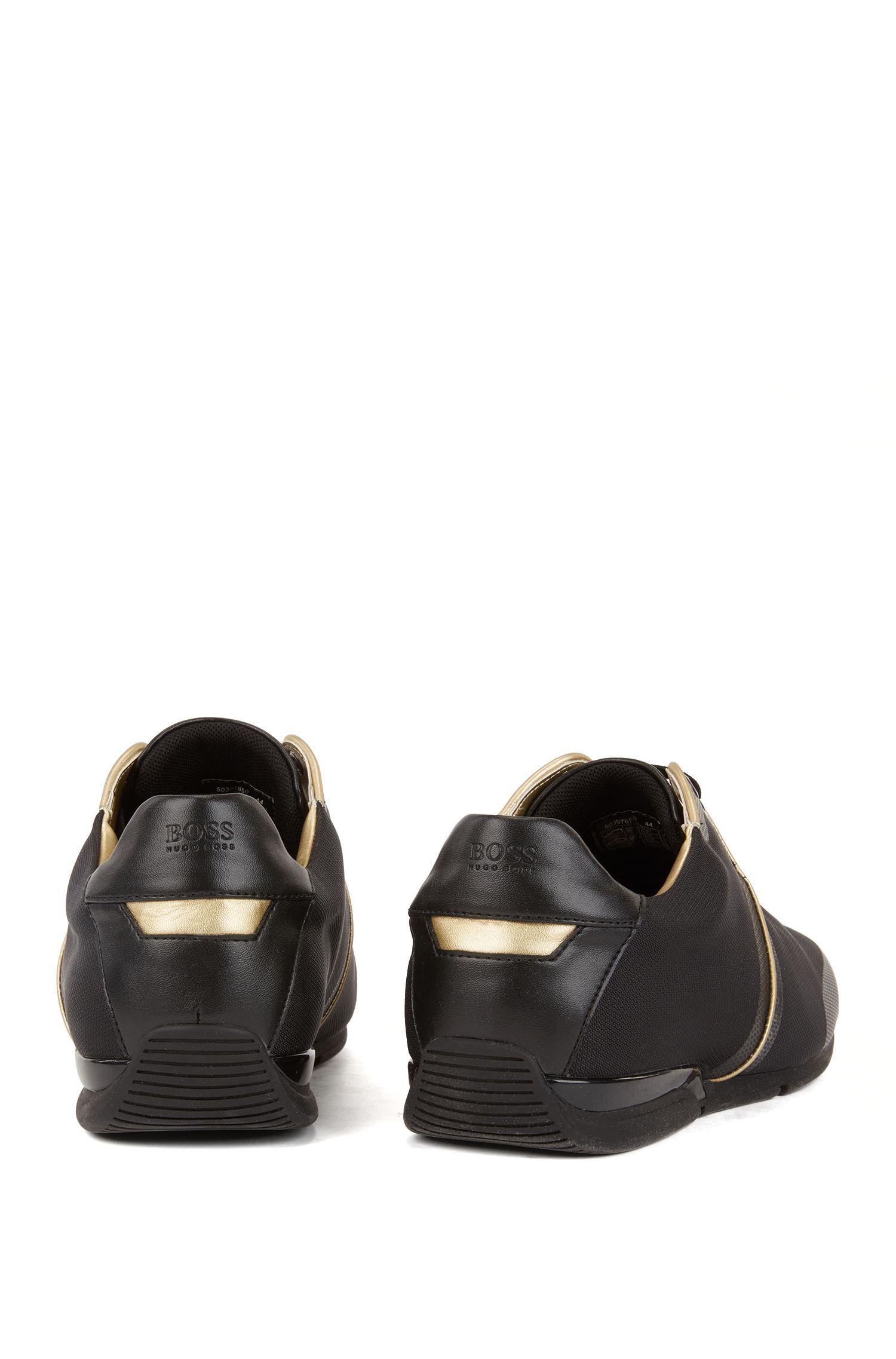 Strukturierte Lowtop Sneakers