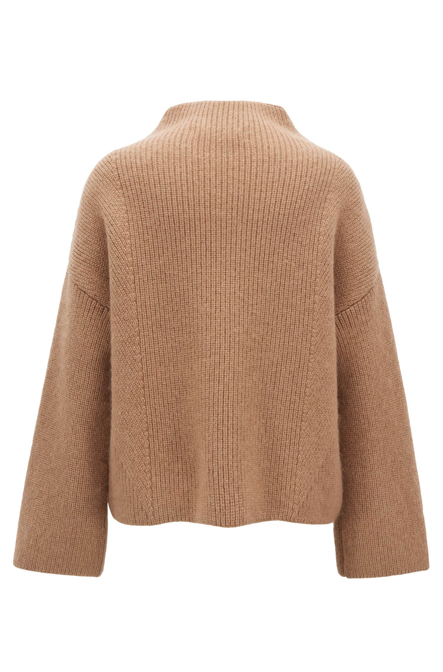 Made in Germany sweater in an Italian virgin-wool blend, Brown