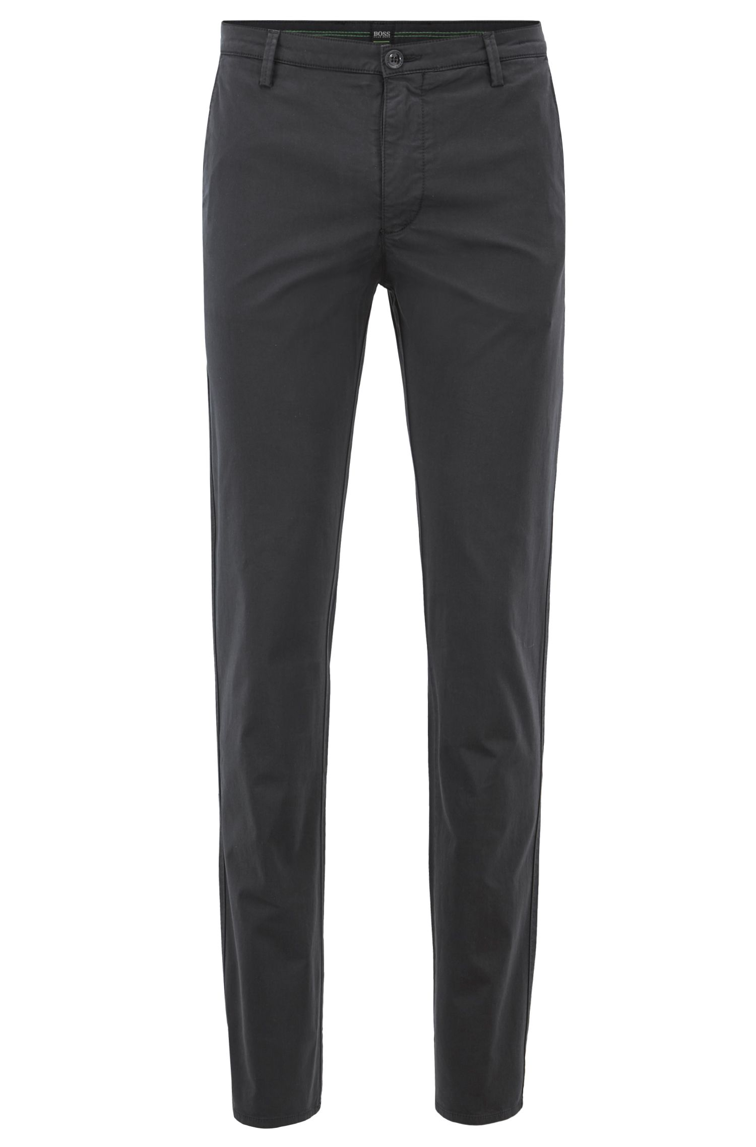 Chino Slim Fit en coton stretch confortable à la finition brossée Diamond Brushed