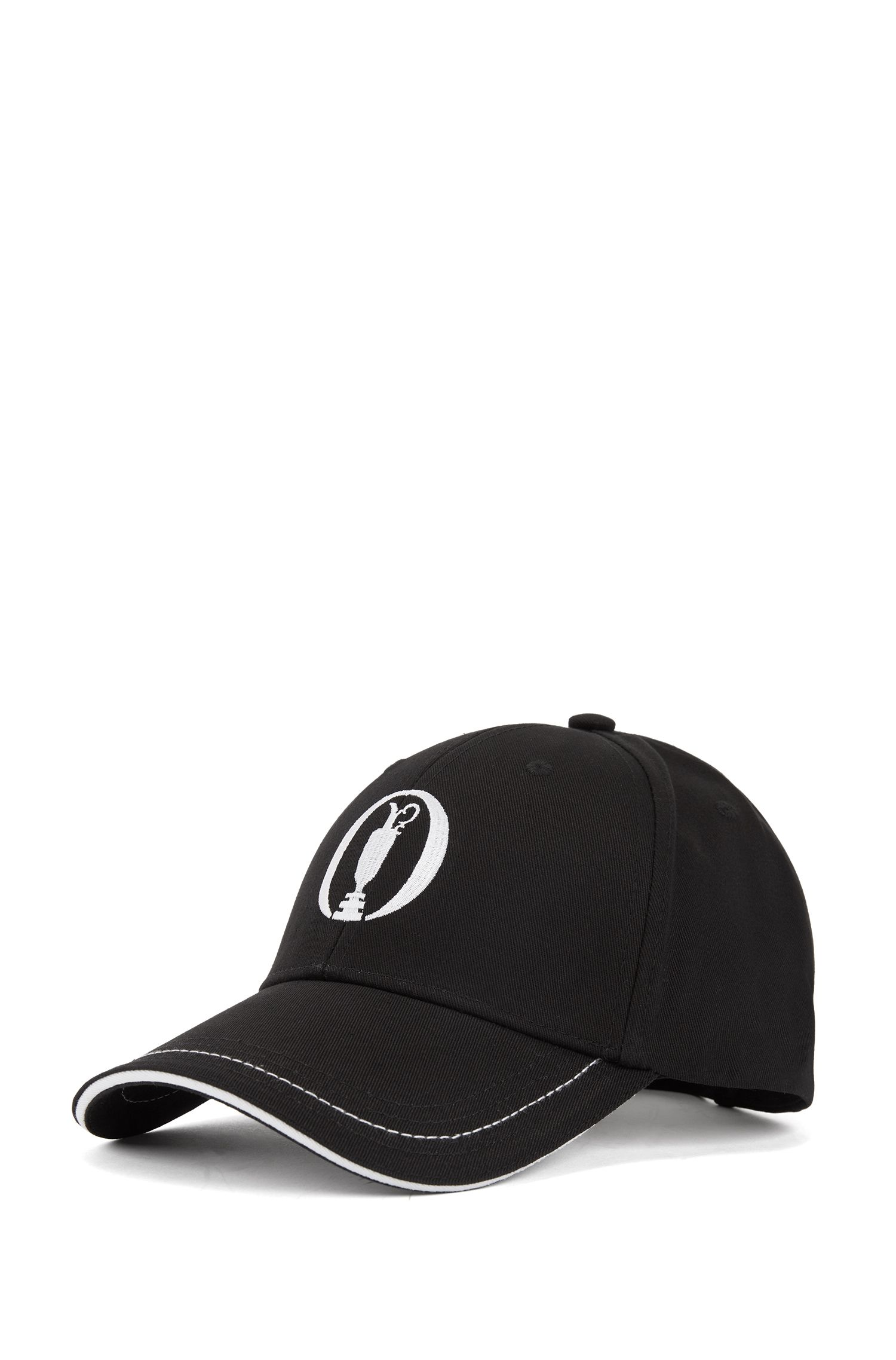 Casquette en twill de coton The Open Exclusive, Noir