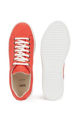 Vegane Sneakers aus Piñatex® aus der Limited Edition, Orange