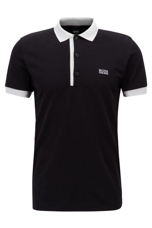 Hugo Boss - Polo slim fit en piqué Oxford de algodón Pima - 1