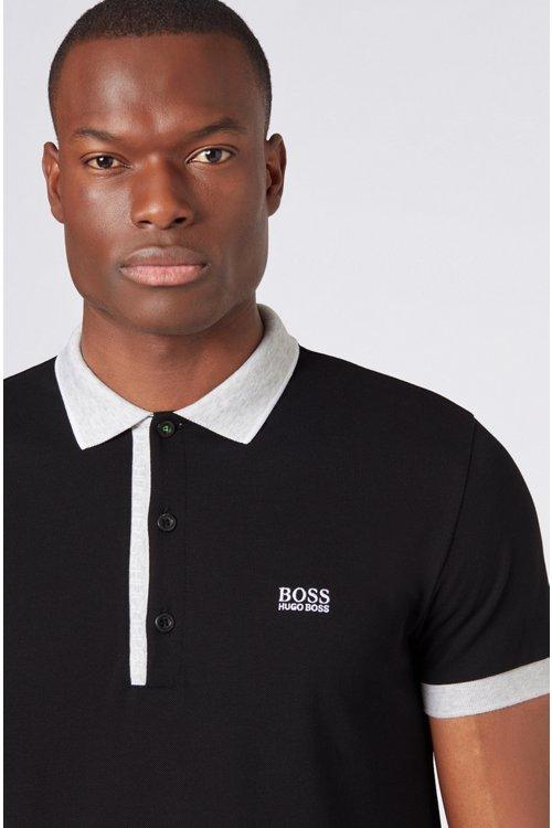 Hugo Boss - Polo slim fit en piqué Oxford de algodón Pima - 4