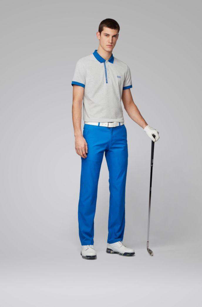 Slim-fit polo shirt in Pima-cotton Oxford piqué