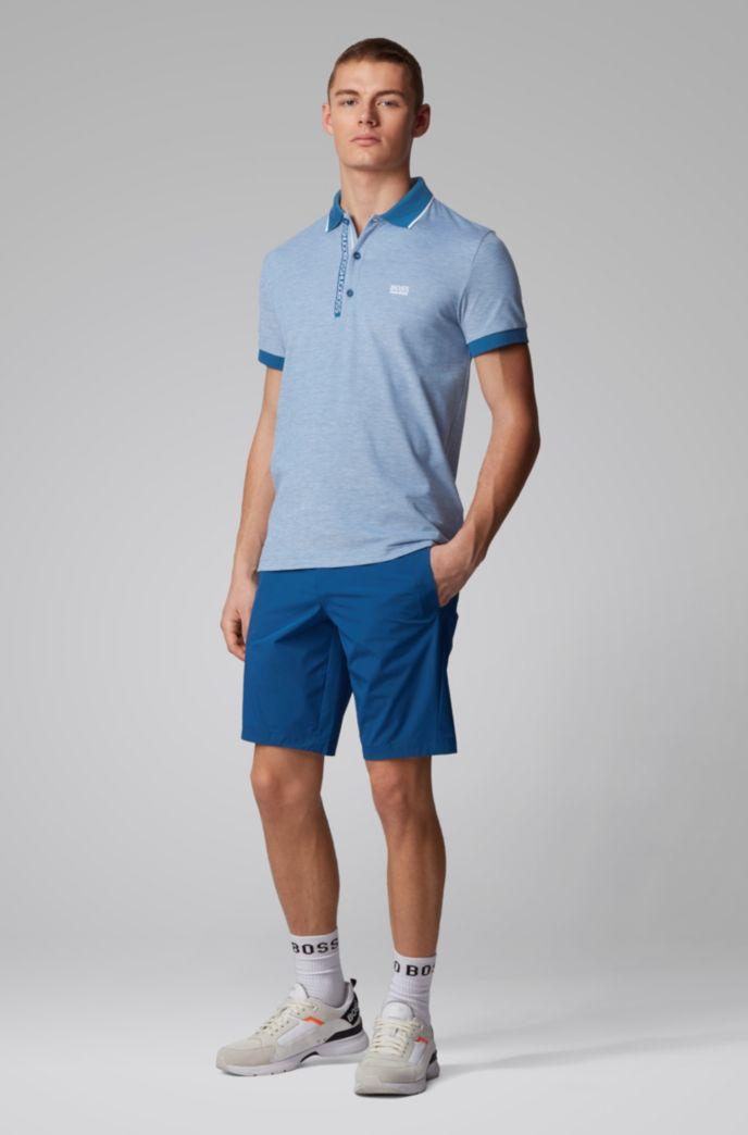 Piqué-Poloshirt aus Pima-Baumwolle