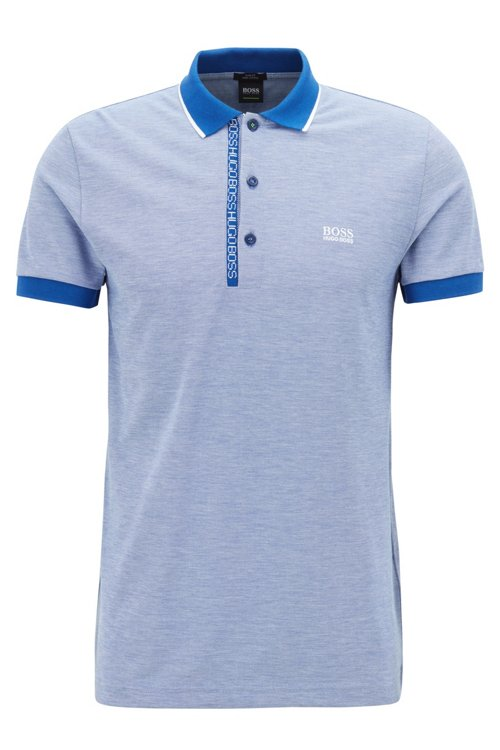 Hugo Boss - Piqué-Poloshirt aus Pima-Baumwolle - 1