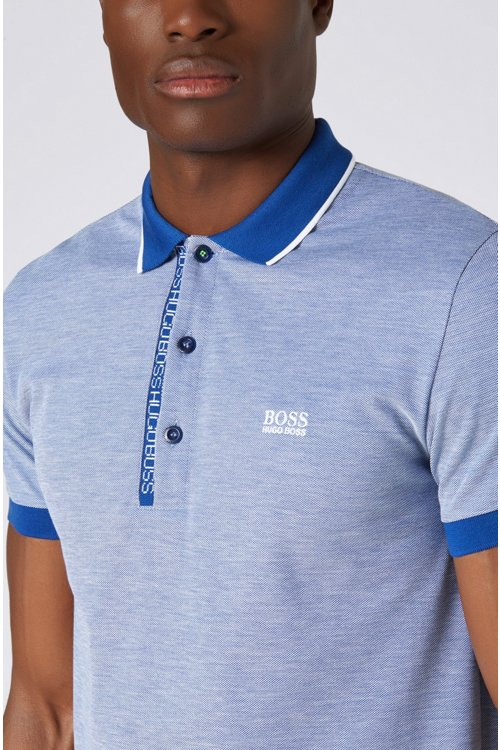 Hugo Boss - Piqué-Poloshirt aus Pima-Baumwolle - 4