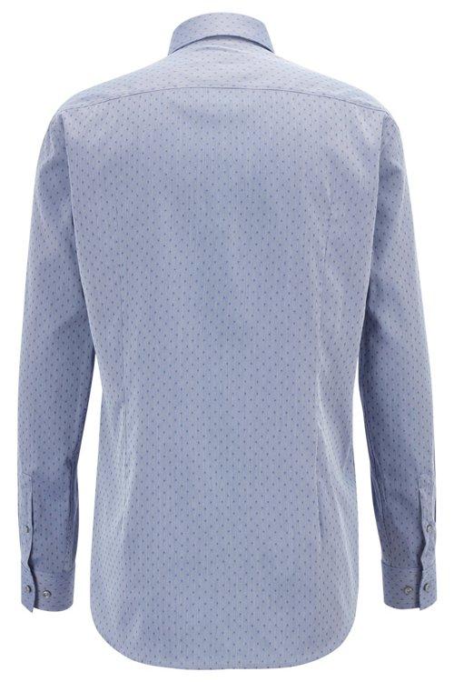 Hugo Boss - Slim-fit shirt in a Swiss-made cotton blend - 5
