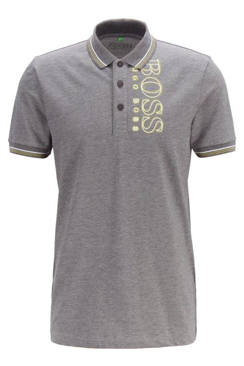 Hugo Boss - Slim-fit polo shirt in cotton-blend piqué with S.Café® - 1