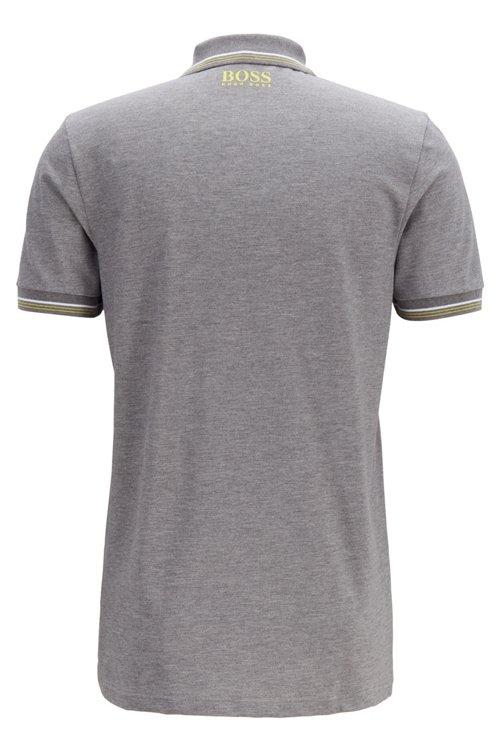 Hugo Boss - Slim-fit polo shirt in cotton-blend piqué with S.Café® - 3