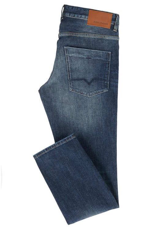 Hugo Boss - Slim-fit jeans in authentic stretch denim - 3
