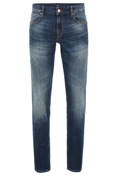 Hugo Boss - Slim-fit jeans in authentic stretch denim - 1