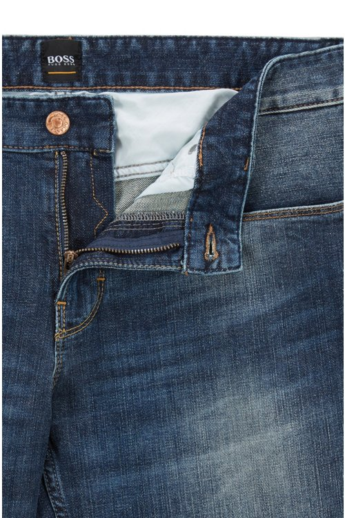 Hugo Boss - Slim-fit jeans in authentic stretch denim - 4