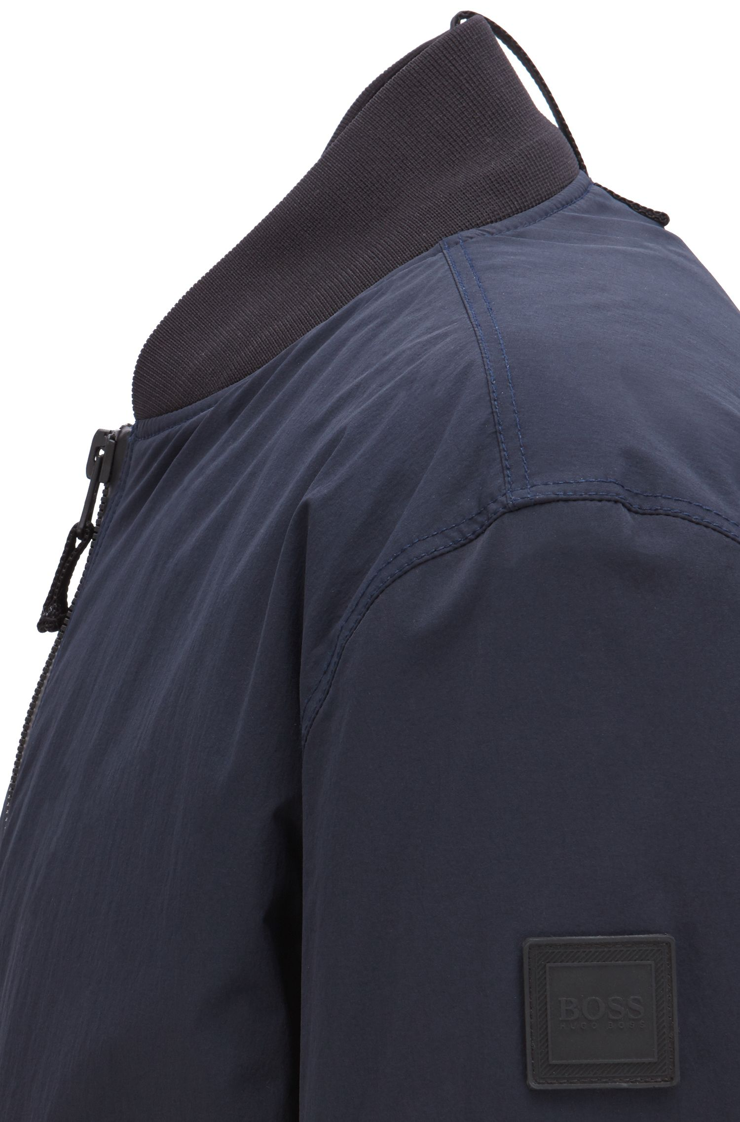 Waterafstotend bomberjack met PrimaLoft®-vulling, Donkerblauw