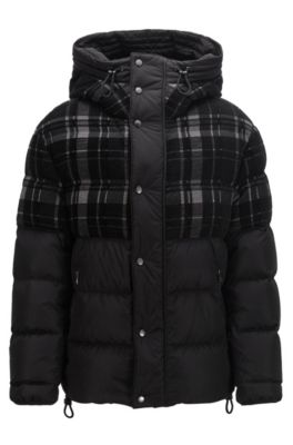 f15c364e1e5 Down jackets for men by HUGO BOSS | High comfort & Protection