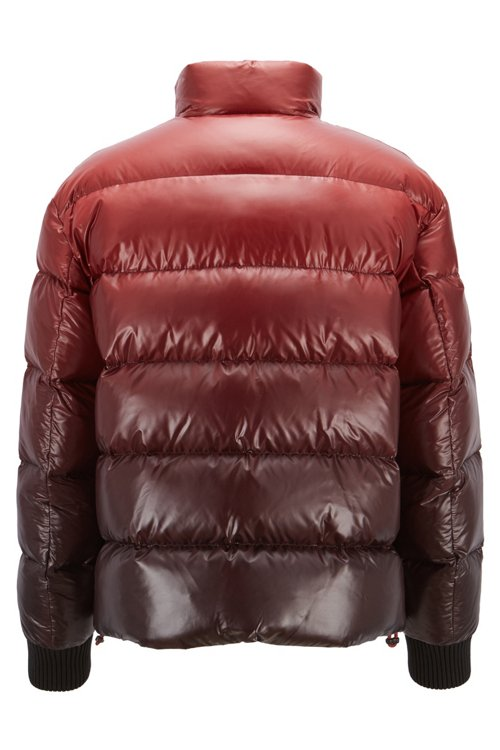 Hugo Boss - Oversized-fit down jacket in ombré-effect water-repellent fabric - 5
