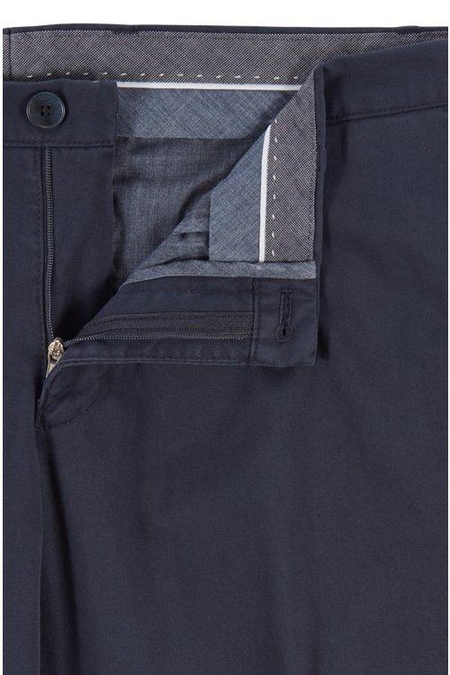 Hugo Boss - Stückgefärbte Slim-Fit Hose aus Stretch-Baumwolle - 5