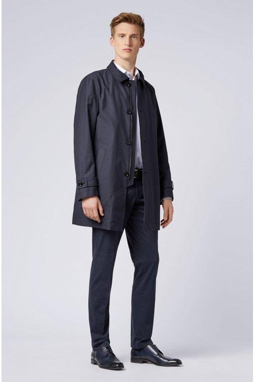 Hugo Boss - Stückgefärbte Slim-Fit Hose aus Stretch-Baumwolle - 2
