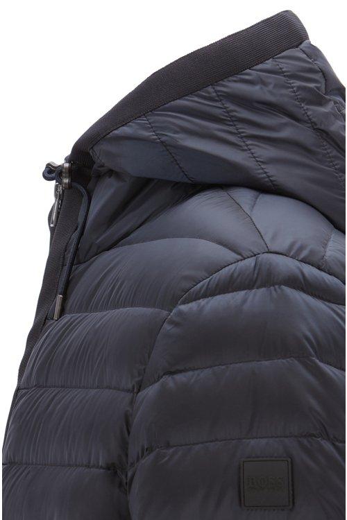 Hugo Boss - Cazadora con capucha en tejido repelente al agua con relleno de plumón - 5