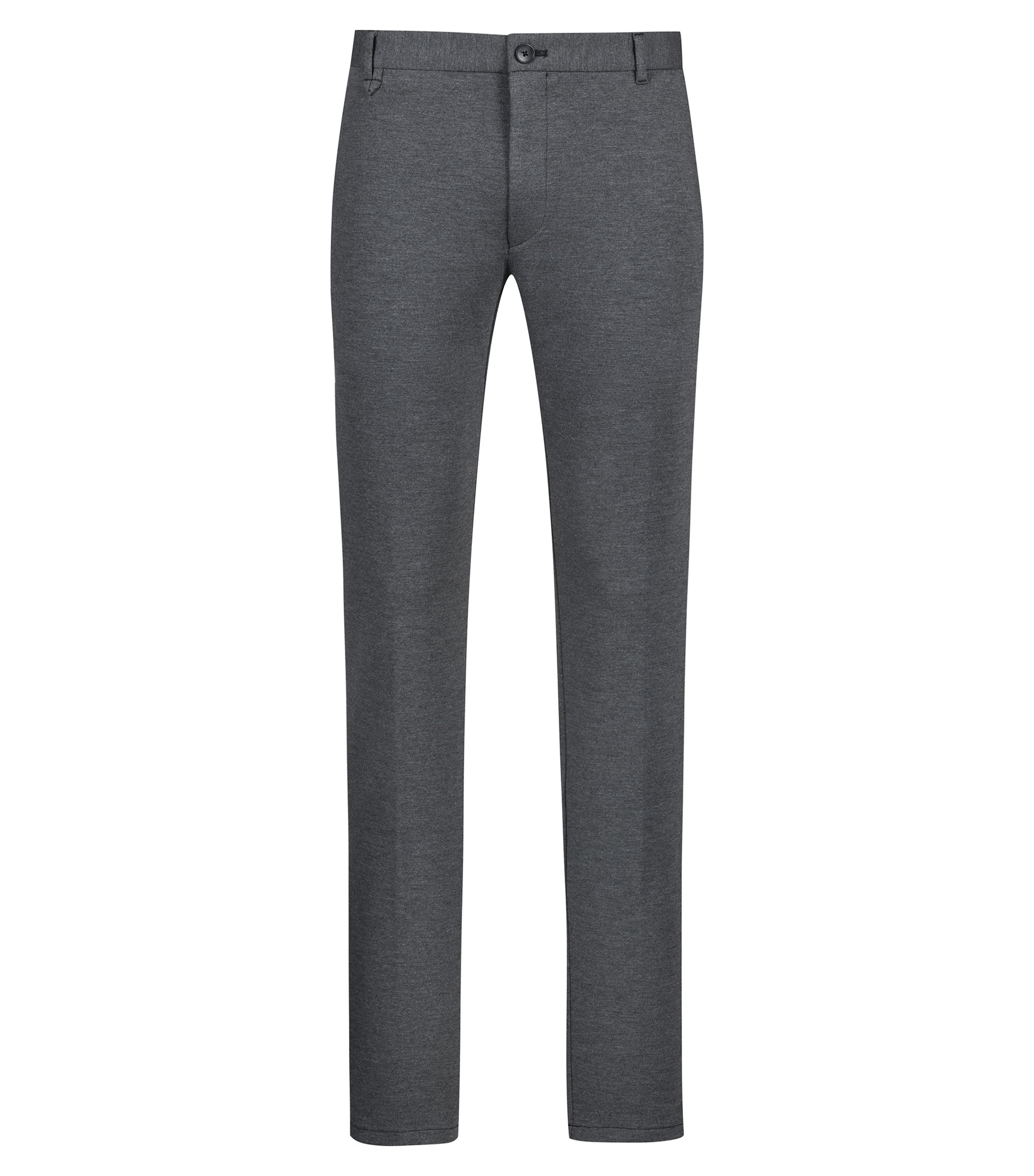 Pantalon Extra Slim Fit en jersey stretch, Gris
