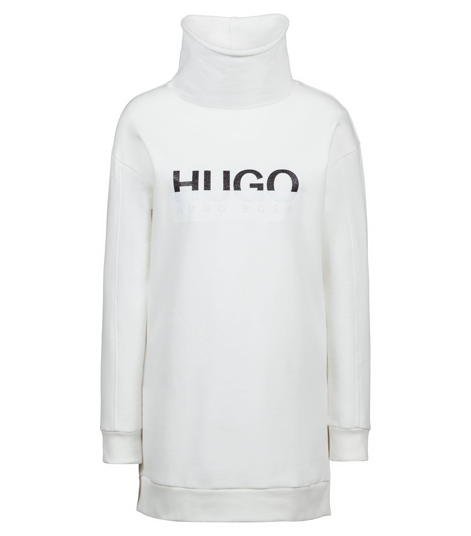 Sweat Oversized Fit en coton avec logo bicolore, Chair