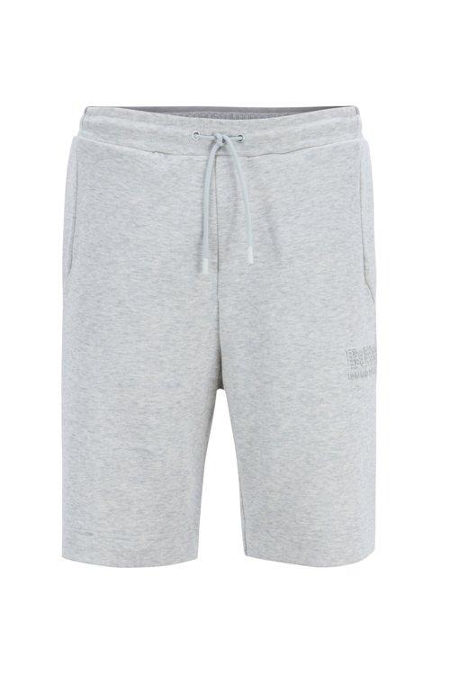 Hugo Boss - Regular-Fit Shorts aus Baumwoll-Mix mit reflektierenden Elementen - 1