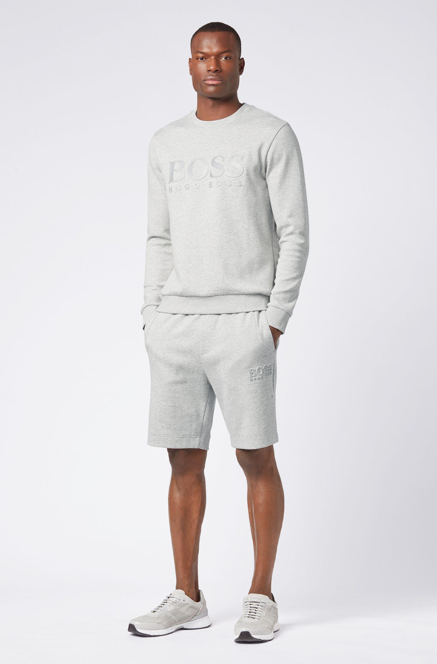 Hugo Boss - Regular-Fit Shorts aus Baumwoll-Mix mit reflektierenden Elementen - 2