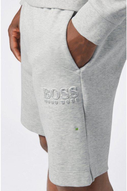 Hugo Boss - Regular-Fit Shorts aus Baumwoll-Mix mit reflektierenden Elementen - 5