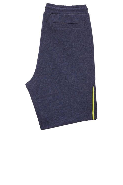 Hugo Boss - Shorts de mezcla de algodón con elementos reflectantes - 3