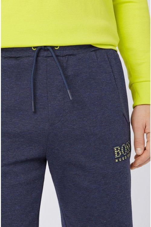Hugo Boss - Shorts de mezcla de algodón con elementos reflectantes - 5