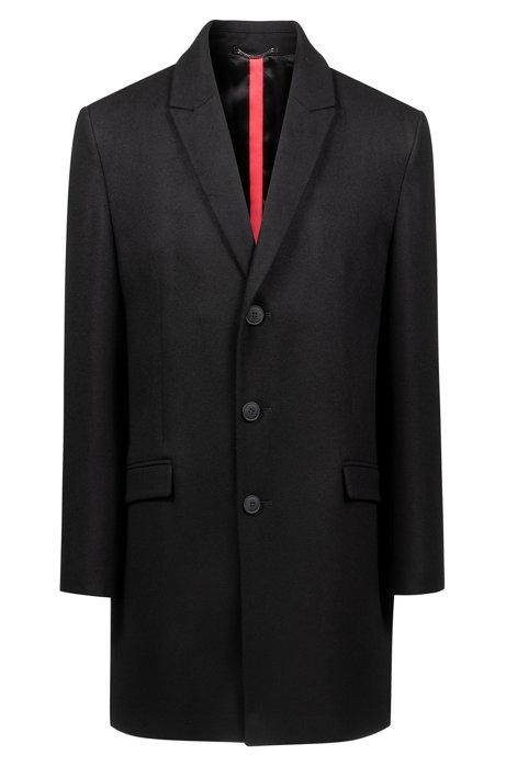 HUGO - Abrigo de sastrería slim fit en mezcla de lana a4e1bbca376