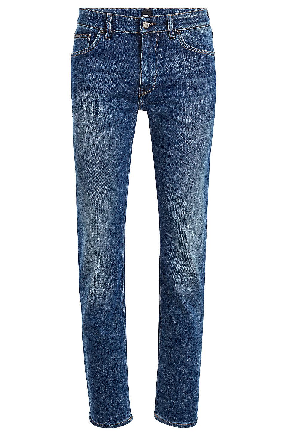 Hugo Boss BOSS Mens Regular Fit Maine Denim Jeans