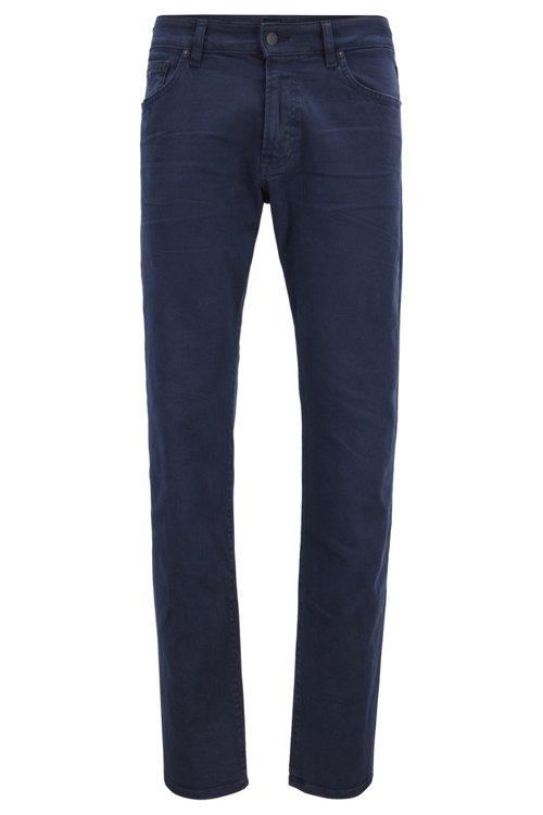 Hugo Boss - Regular-fit jeans in left-hand-twill stretch denim - 1