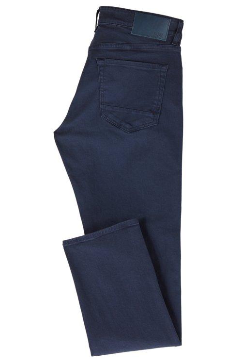 Hugo Boss - Regular-fit jeans in left-hand-twill stretch denim - 3